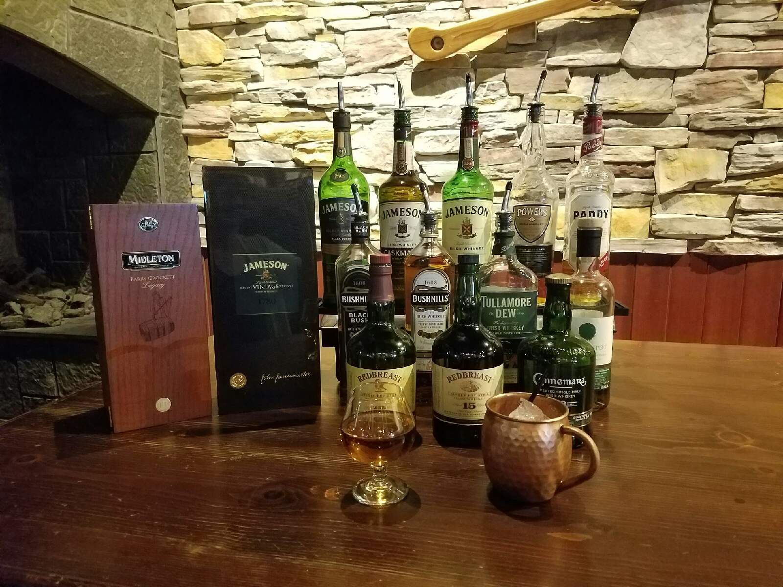 Whiskey & Bourbon Selection